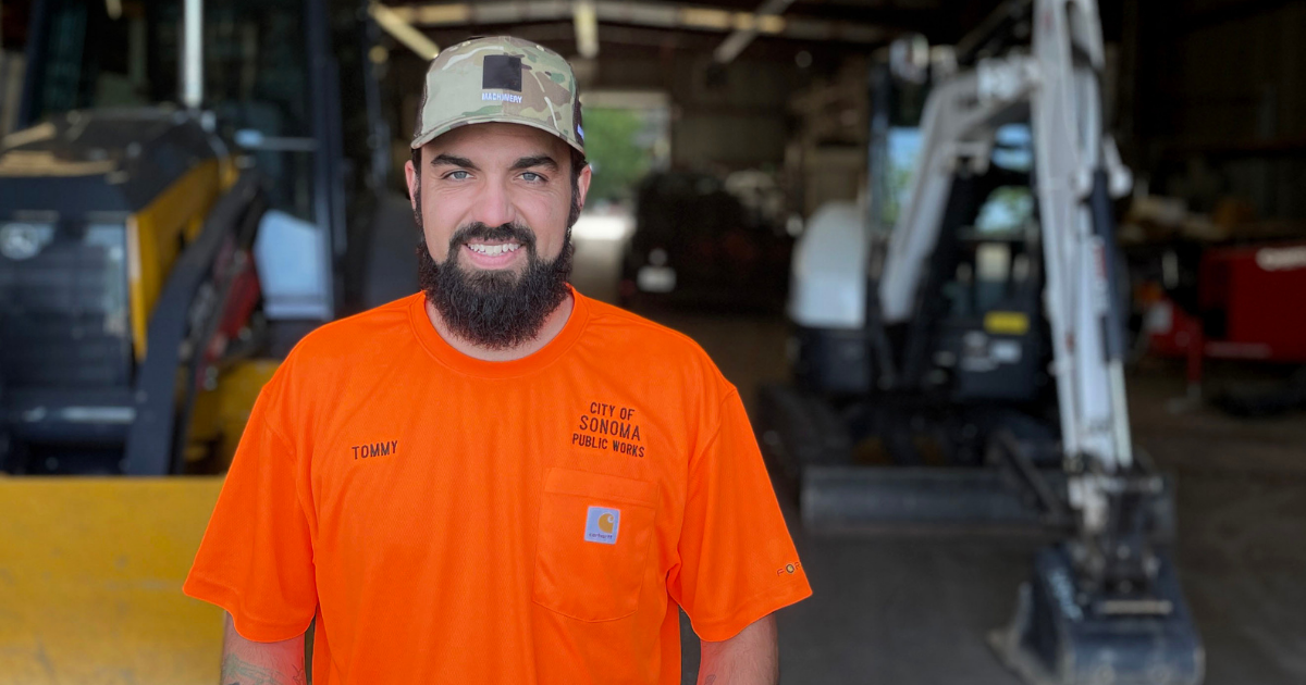 Meet Our New Streets Supervisor, Tommy Plume