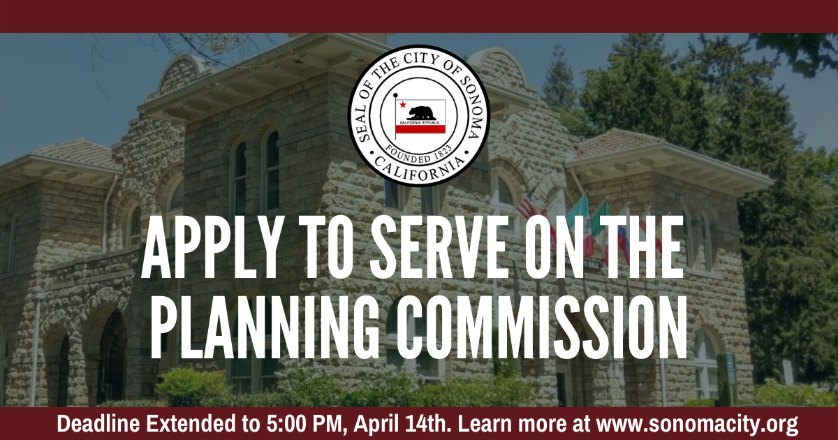 Apply to Serve on the Planning Commission