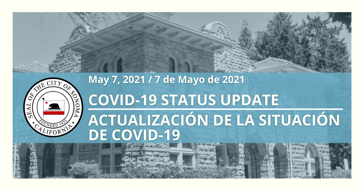 Covid Status Update, May 7th