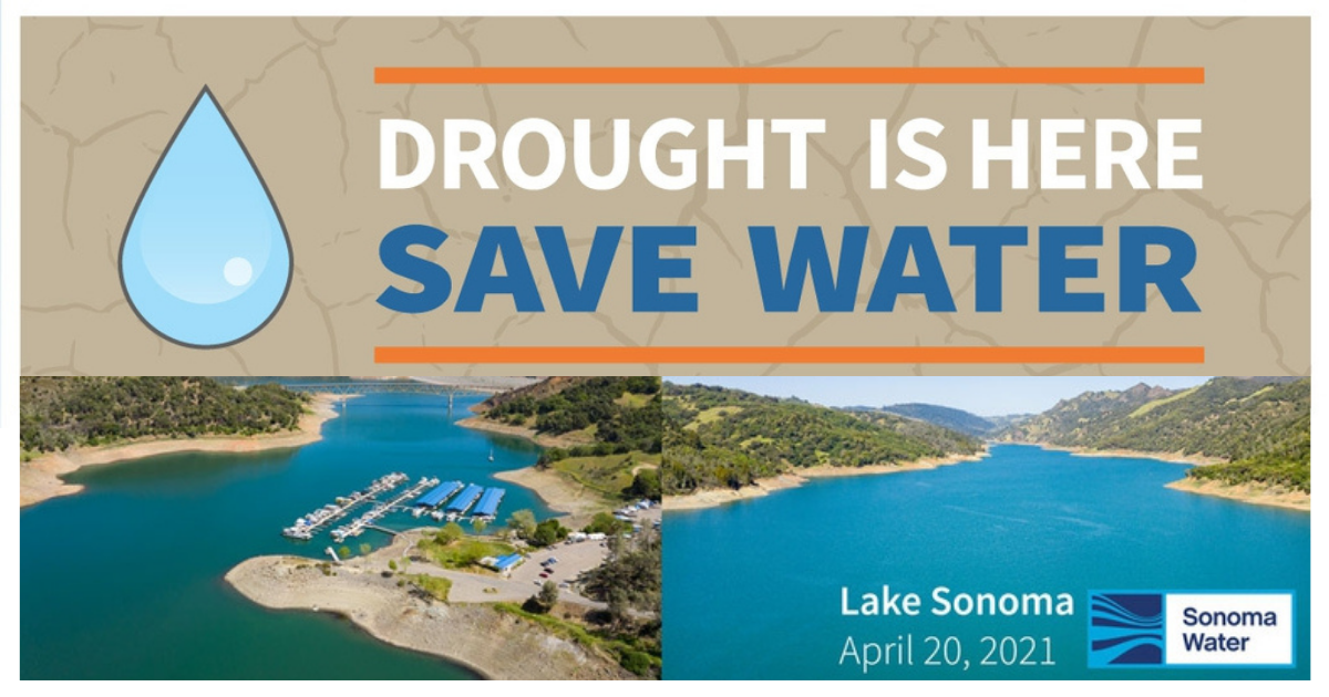 Drought is Here Save Water