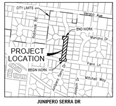 Fire Flow Project Location