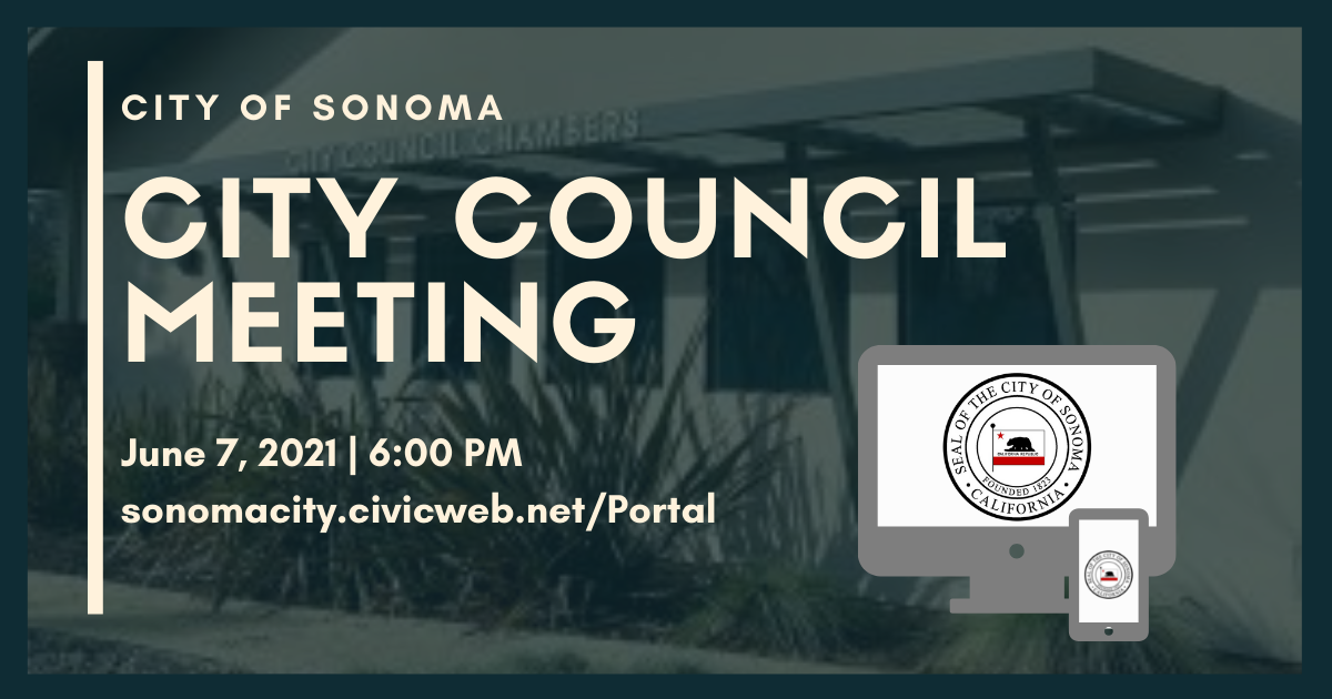 City Council Meeting June 7th