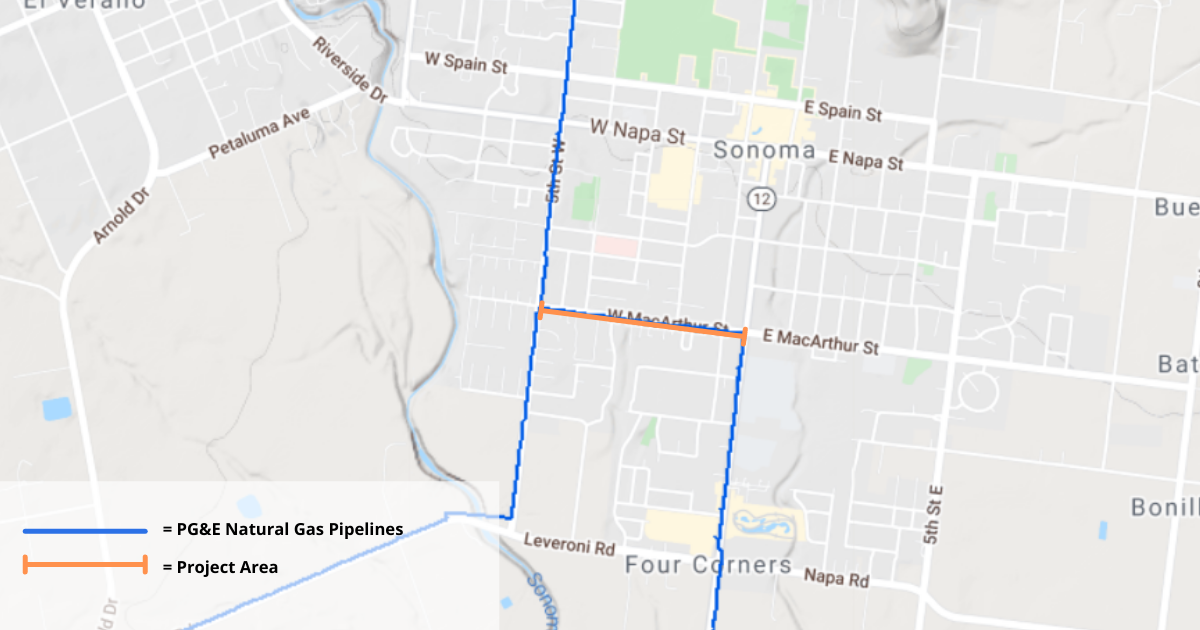 PG&E Natural Gas Pipeline Replacement Project