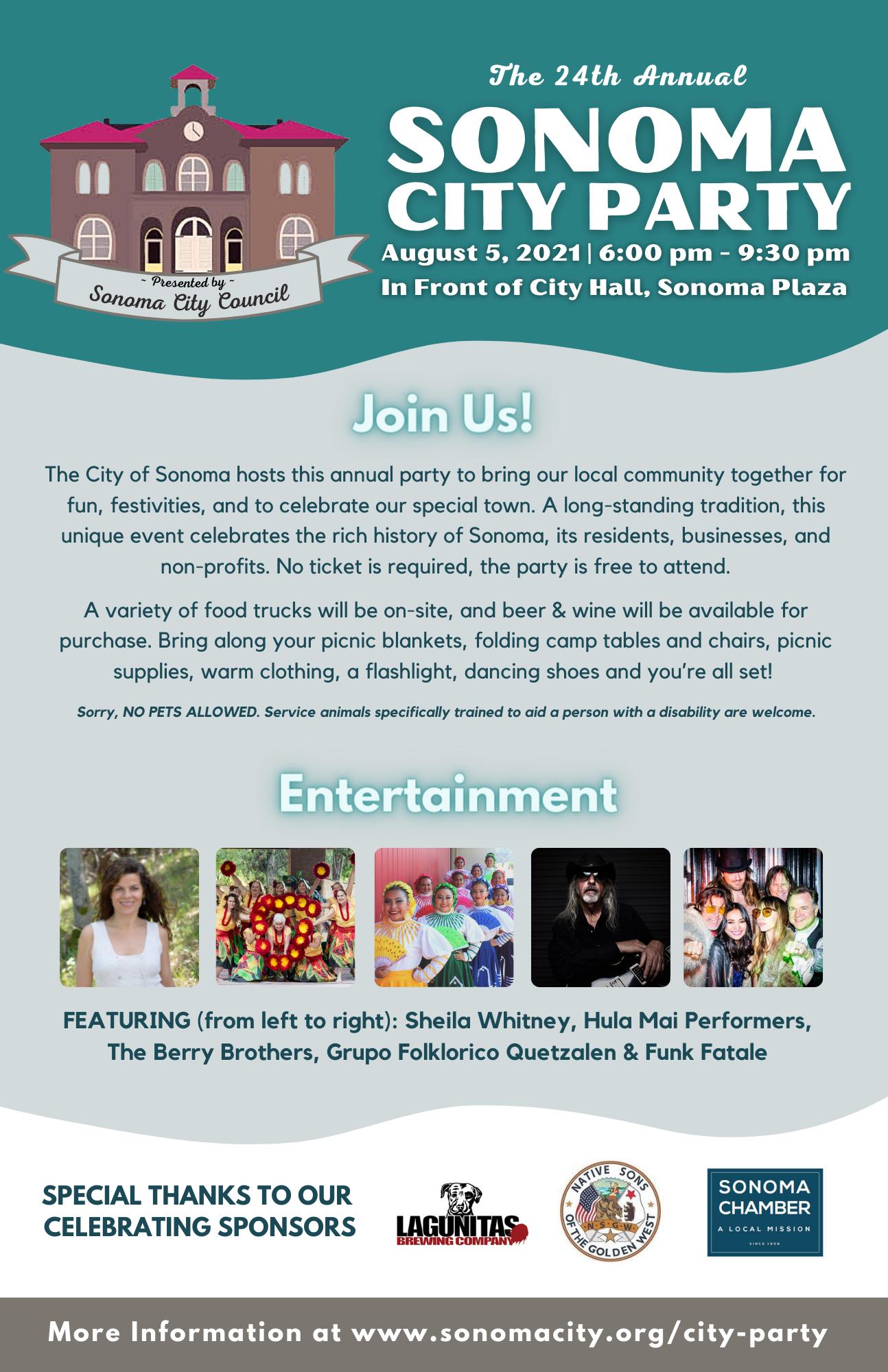 11x17 Sonoma City Flyer, English