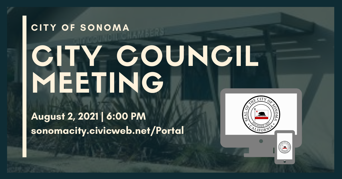 City Council Meeting, August 2nd