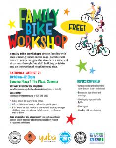 Bike Workshop Flyer
