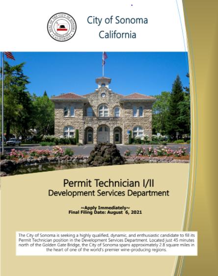 Permit Technician Brochure