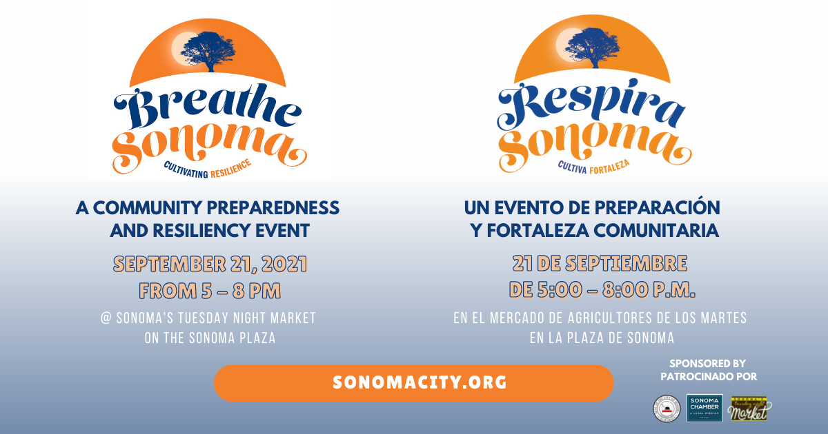 Breathe Sonoma, Respira Sonoma