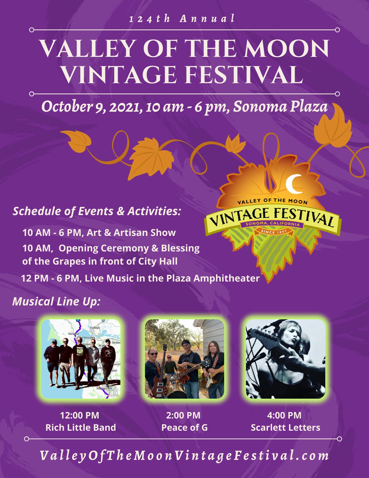 124th Vintage Festival Flyer