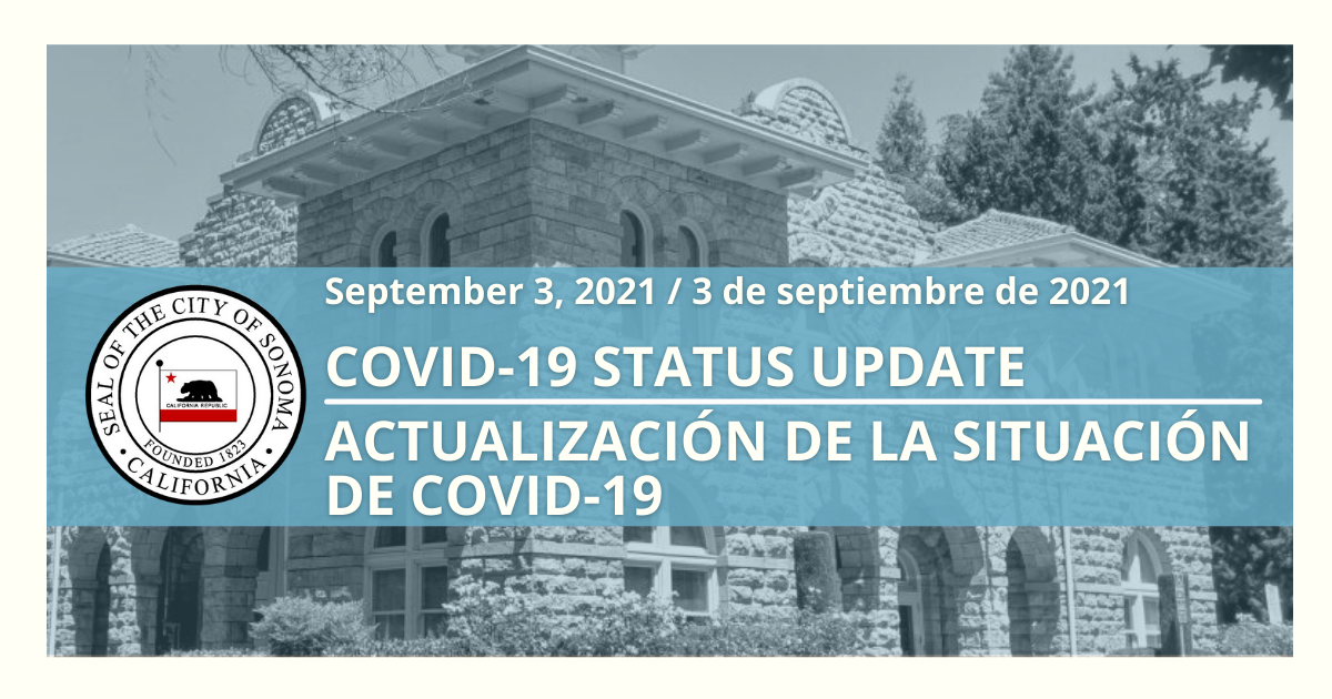 Photo of COVID-19 Status Update – September 3rd
