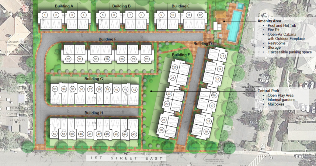 1ST Street East Townhomes