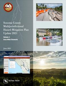 Sonoma County Multi-jurisdictional Hazard Mitigation Plan