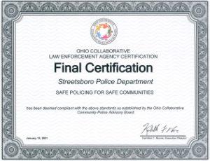 Ohio Collaborative Certification