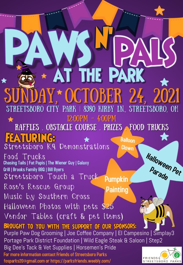 Paws N' Pals at the Park 2021