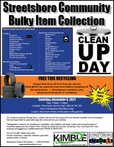 2021 Bulky Items Clean Up