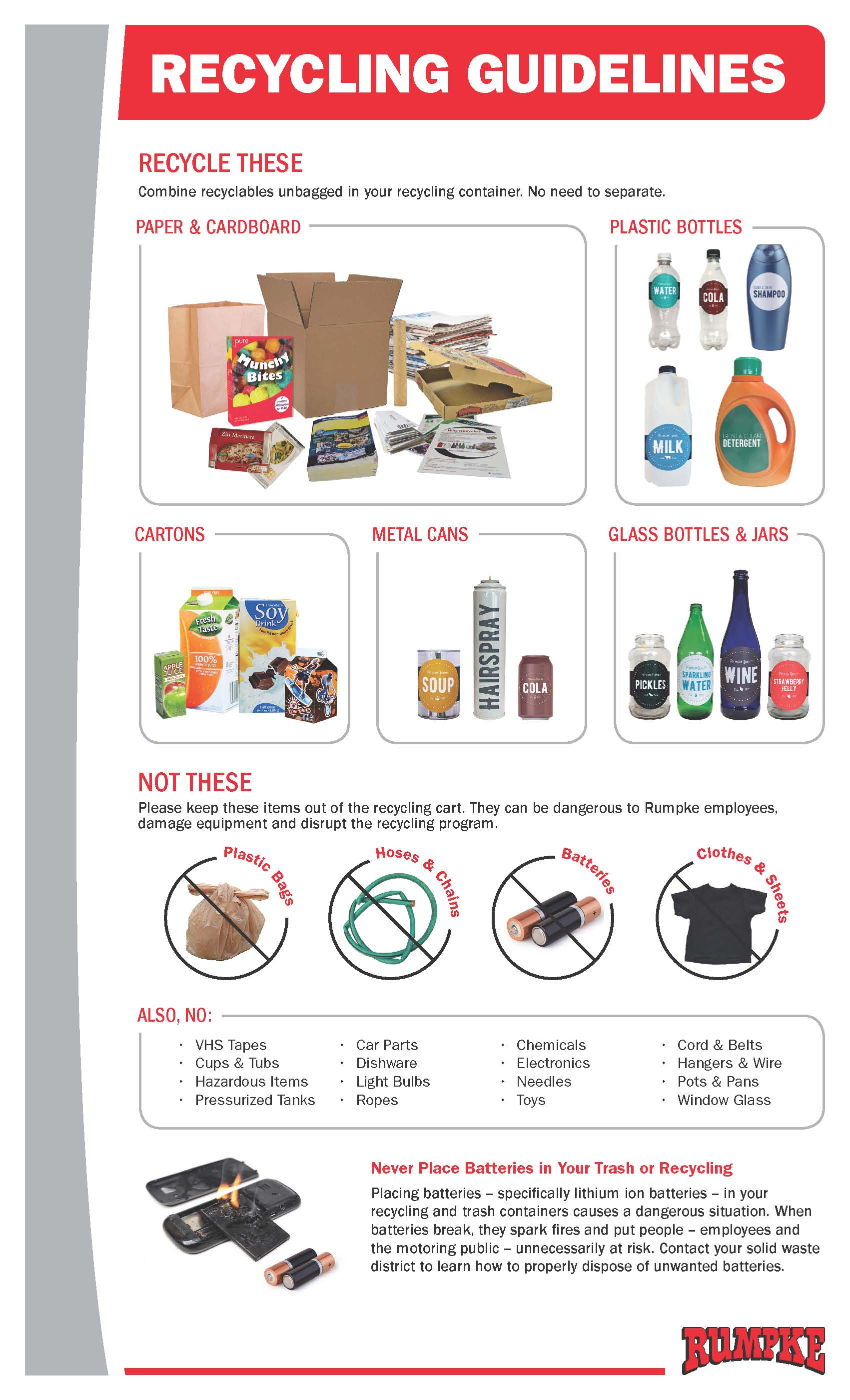 What Items Can Be Recycled West Carrollton