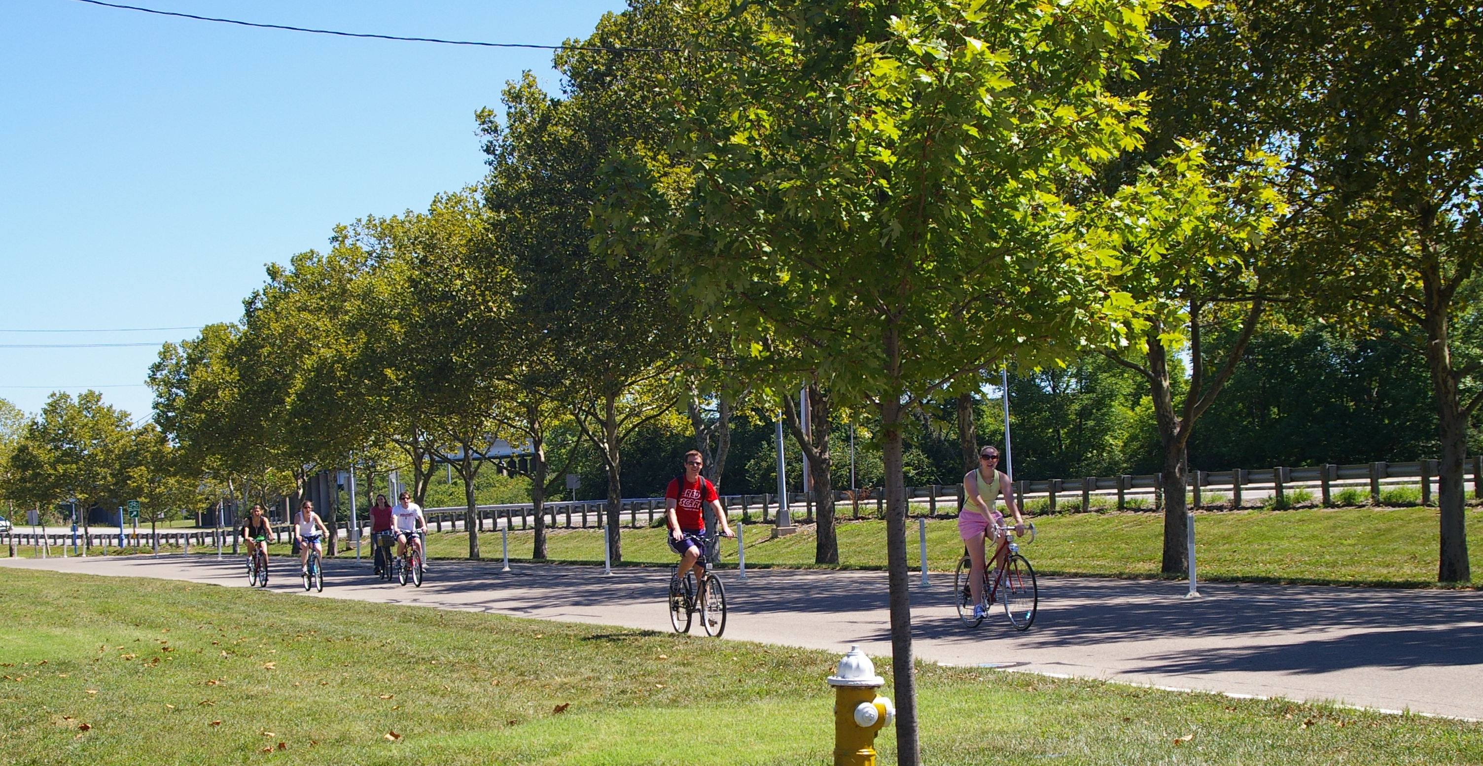 Miami river bike trail