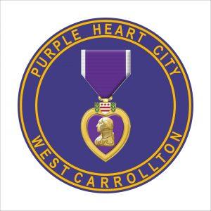 Purple Heart Sign