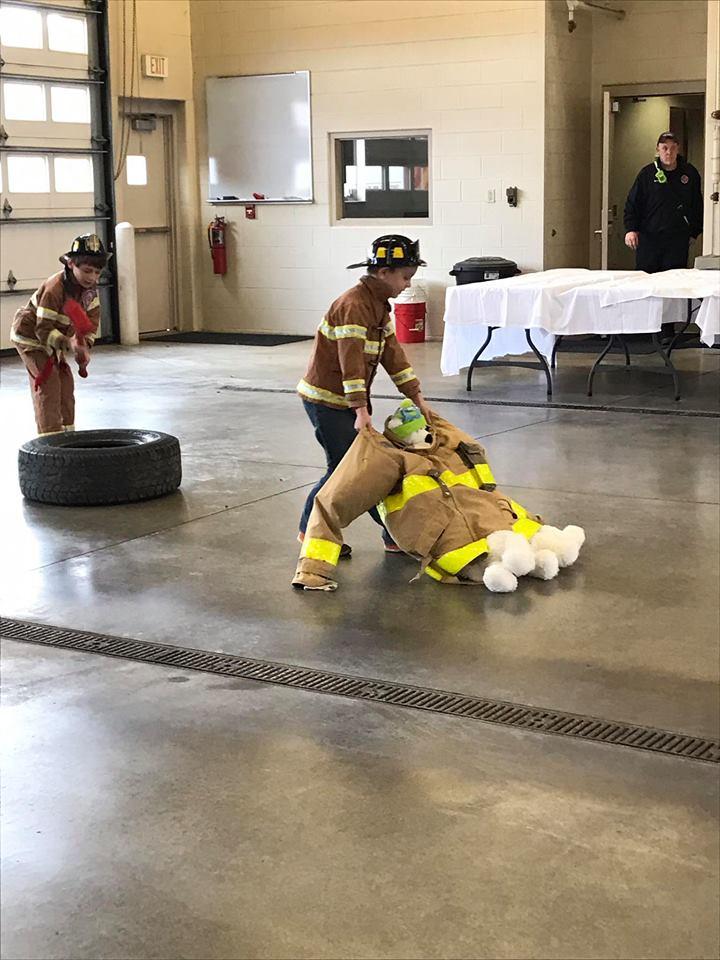 Junior Firefighter Event