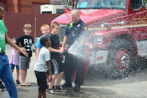 Youth Practice Fire Hose
