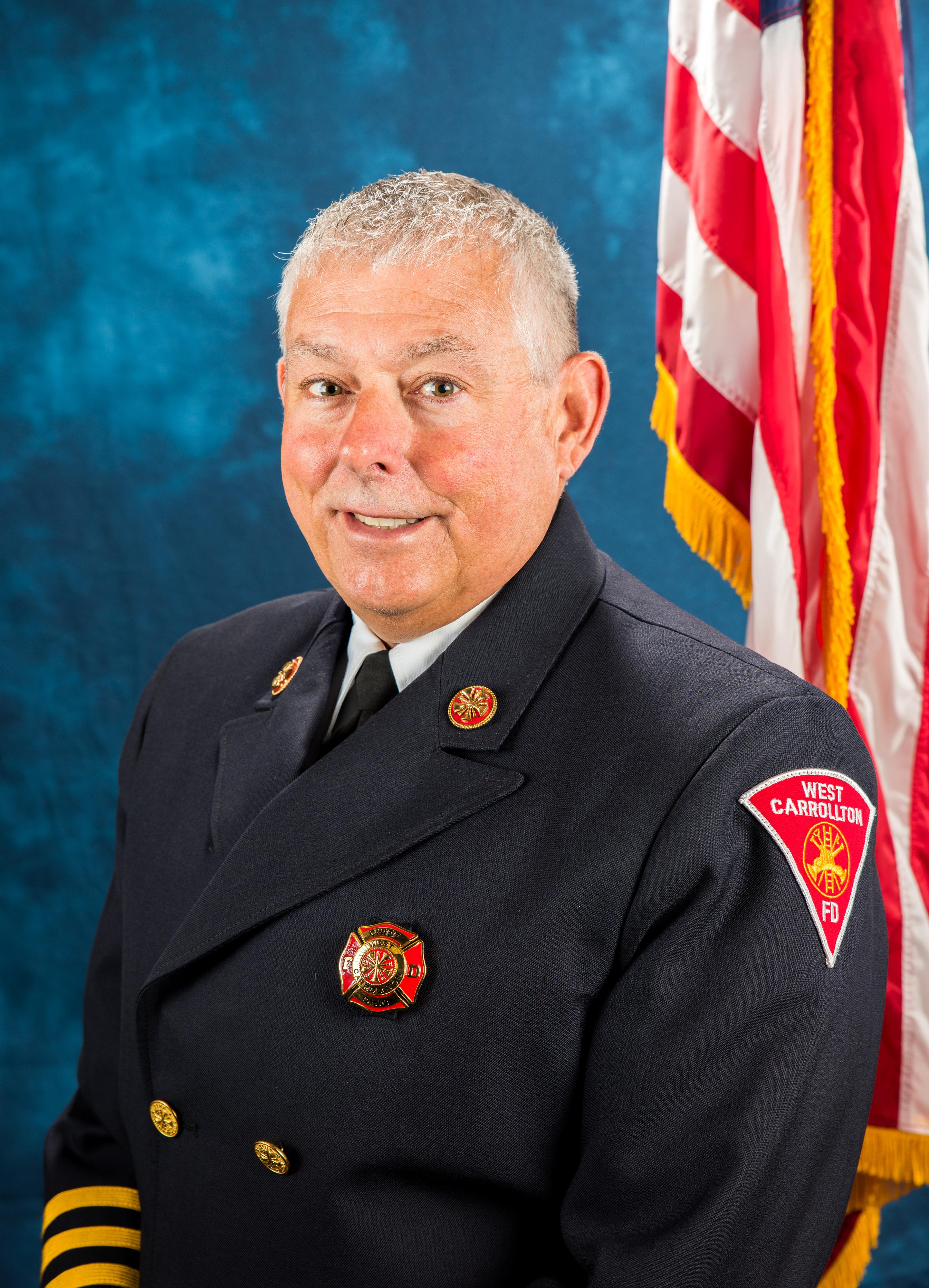 Fire Chief Chris Barnett