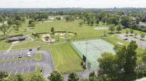 wilson park with tennis courts