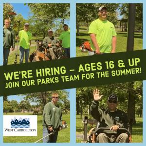 Parks hiring
