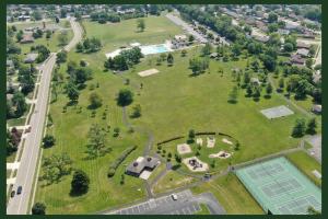 Wilson park - drone 1