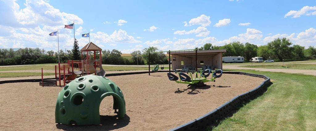 Playground at Blacktail Dam