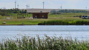 Campers at McGregor Dam