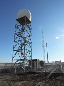 Weather Radar at XWA airport
