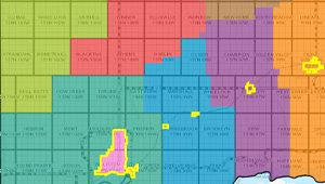 Fire and Ambulance District Map