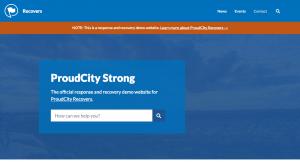 ProudCity Recovers demo