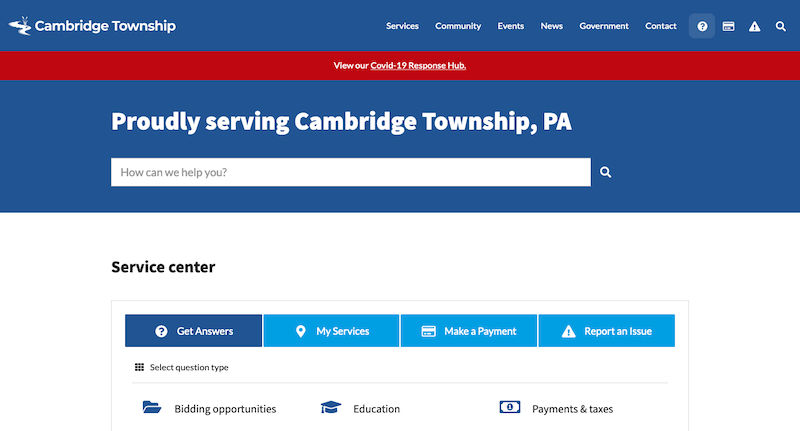 Cambridge Township, PA