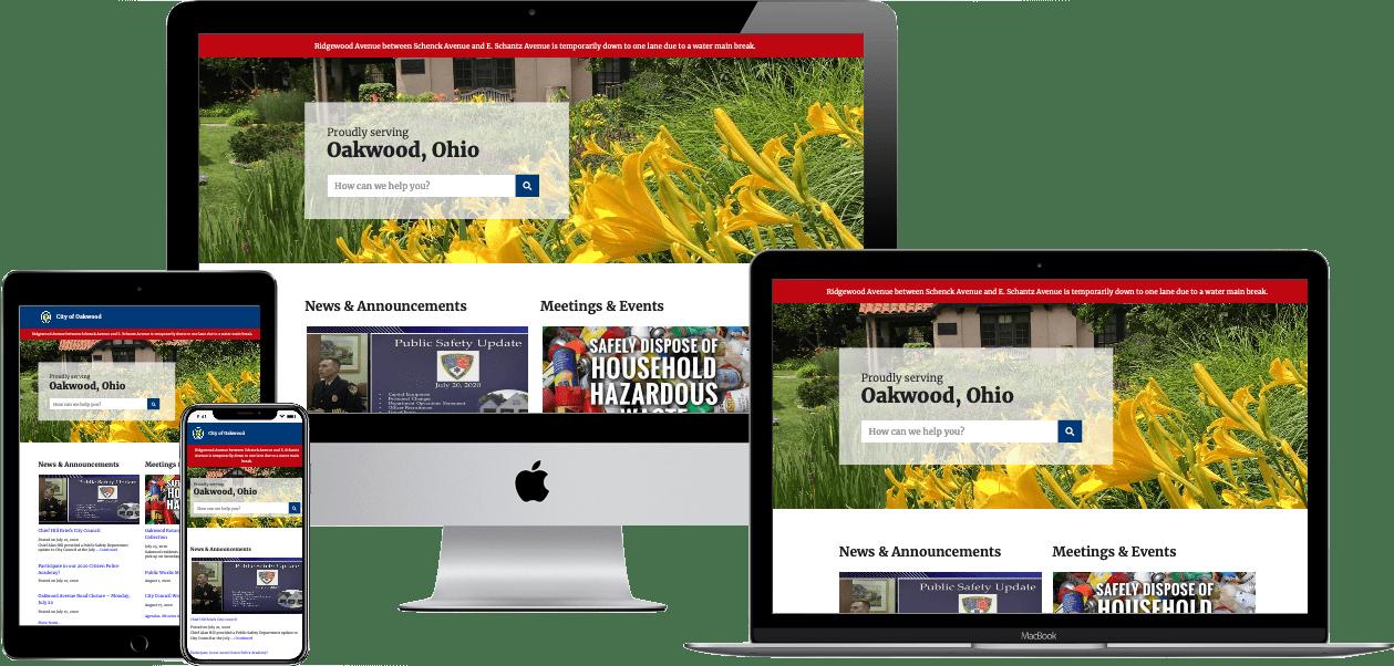 Ohio local government websites