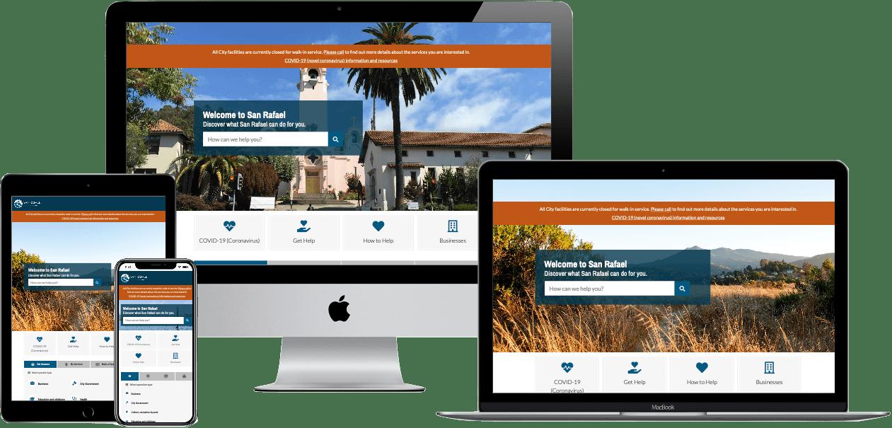 California local government websites