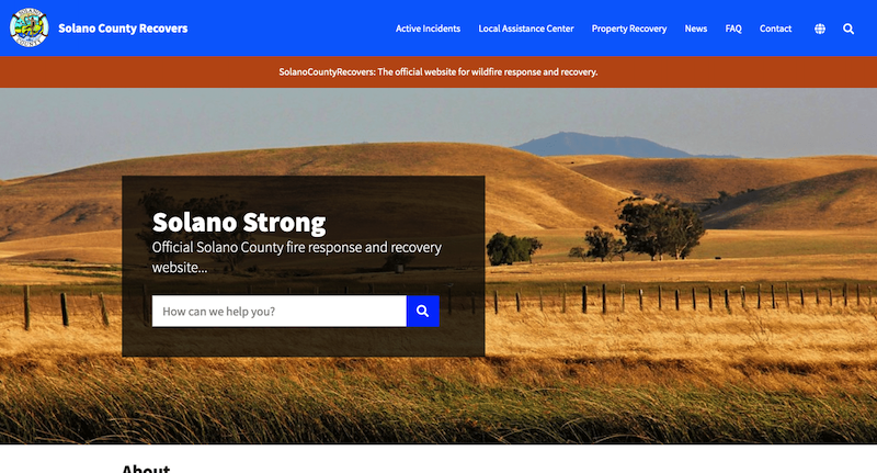 Solano County Recovers