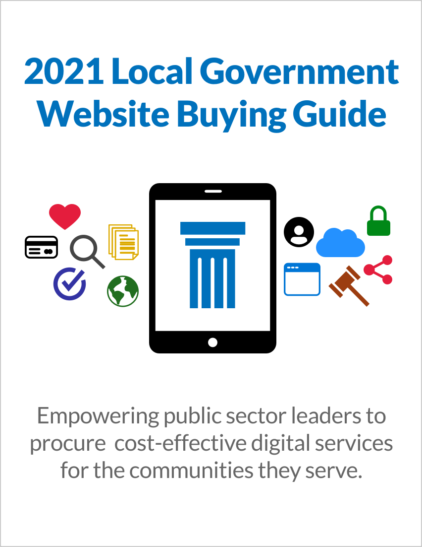 2021 Local Government Website Buying Guide