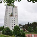 Bild på Skrapan, studentlägenheter i Skövde