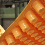 Industribild formar för plastförpackningar