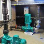 Pumpinstallationen för Snakepit på Skara Sommarland