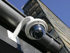 Kamera för övervakning på fasad av märket Bosch