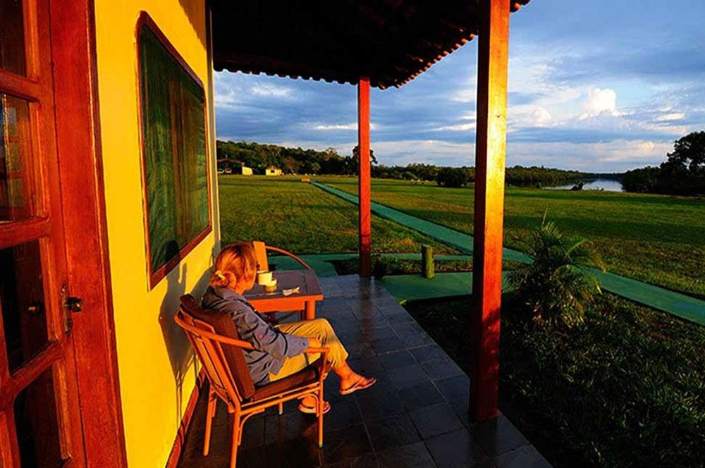 Balcony | Agua Boa Amazon
