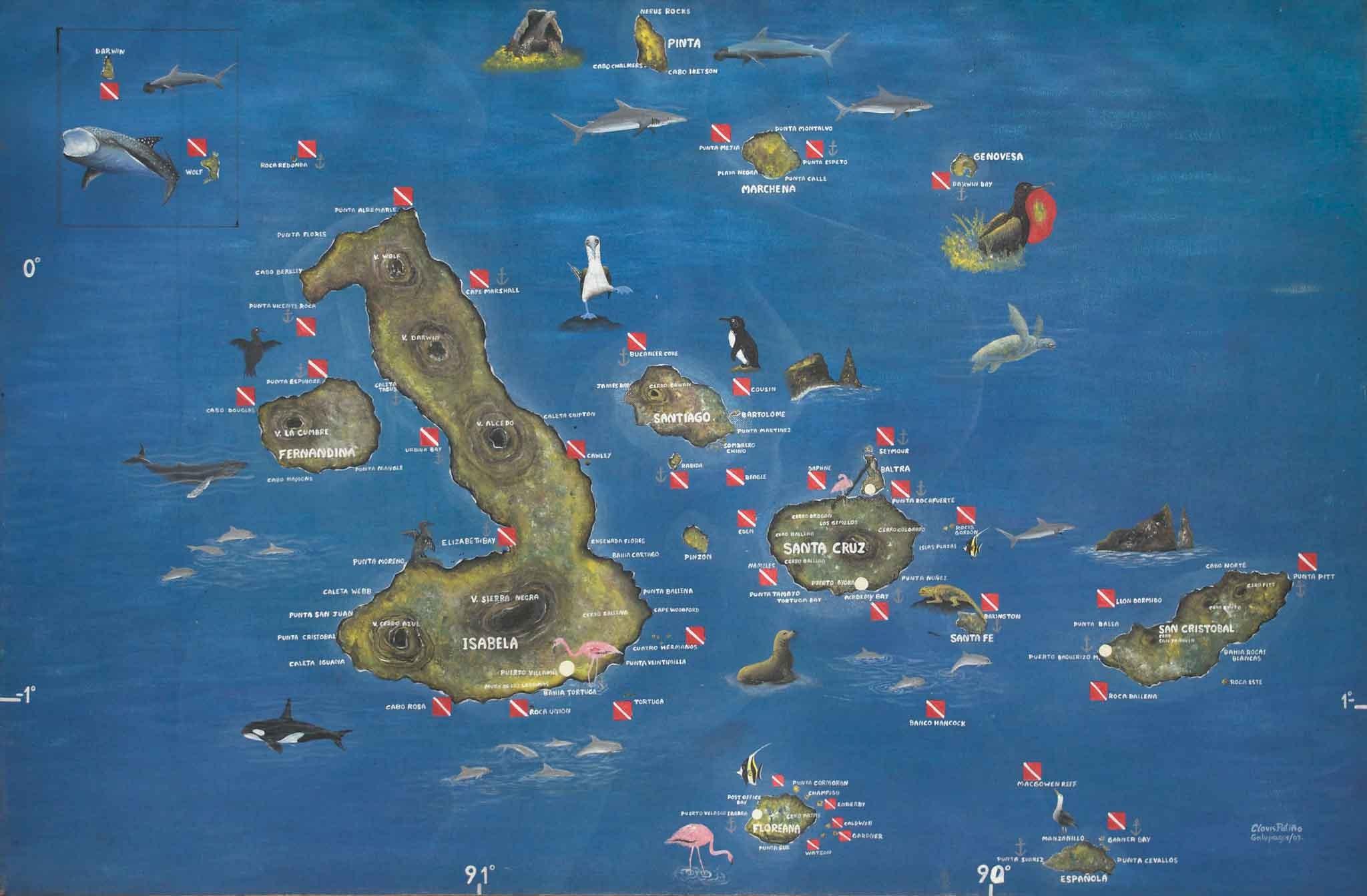Galapagos Location