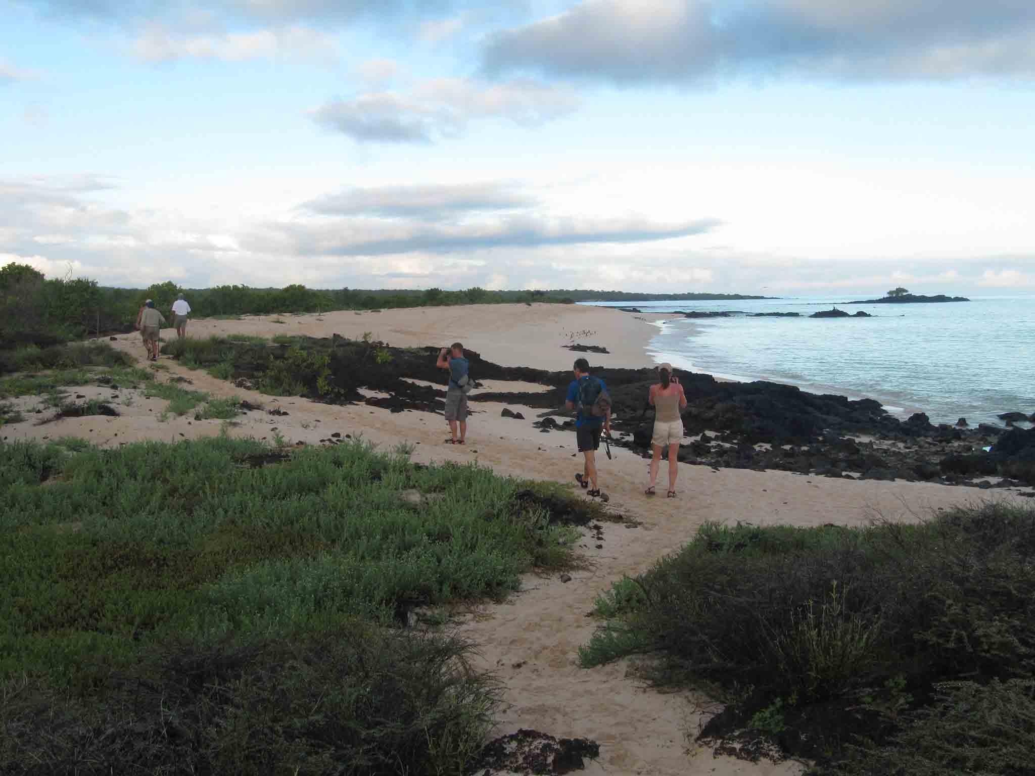 Galapagos geschichte - Anwesenheit der Menschen