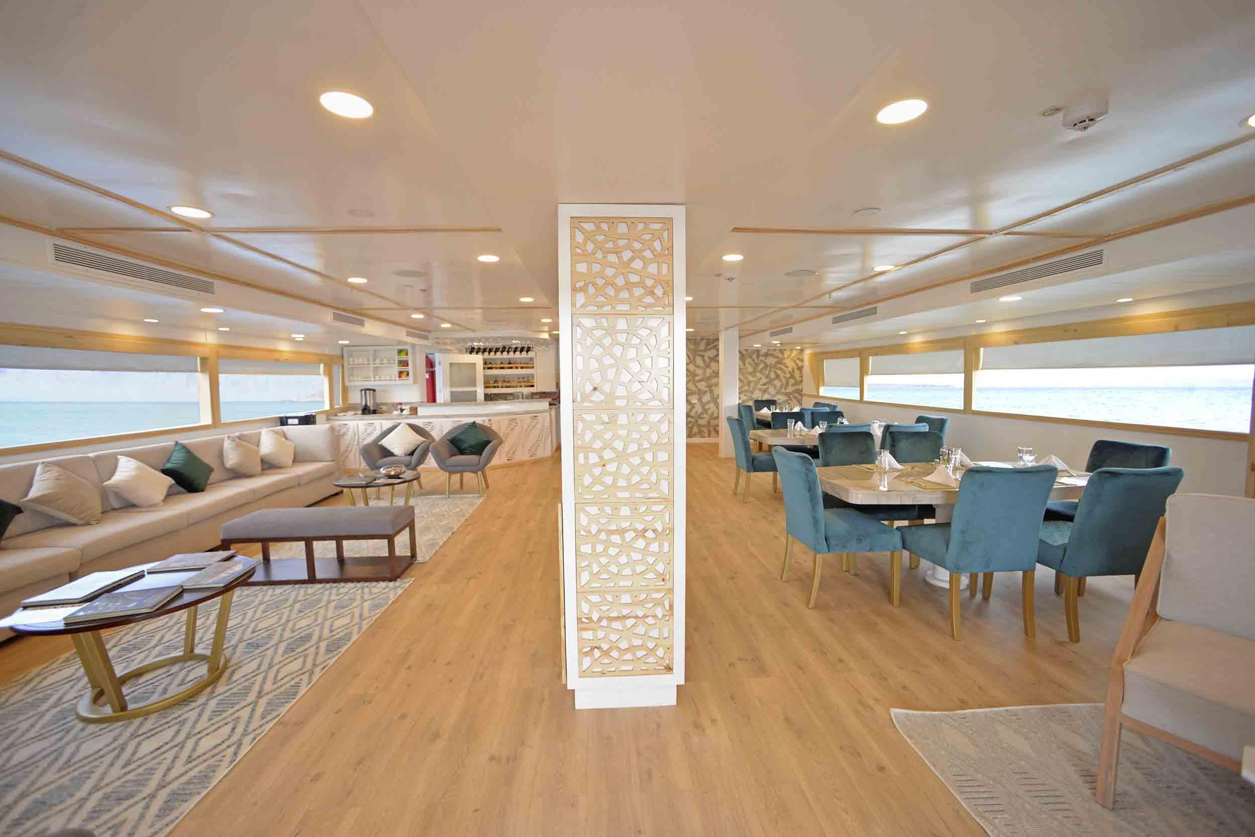 Sea Star Journey |  Interior Social Areas