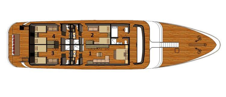 Upper deck | Sea Star Journey