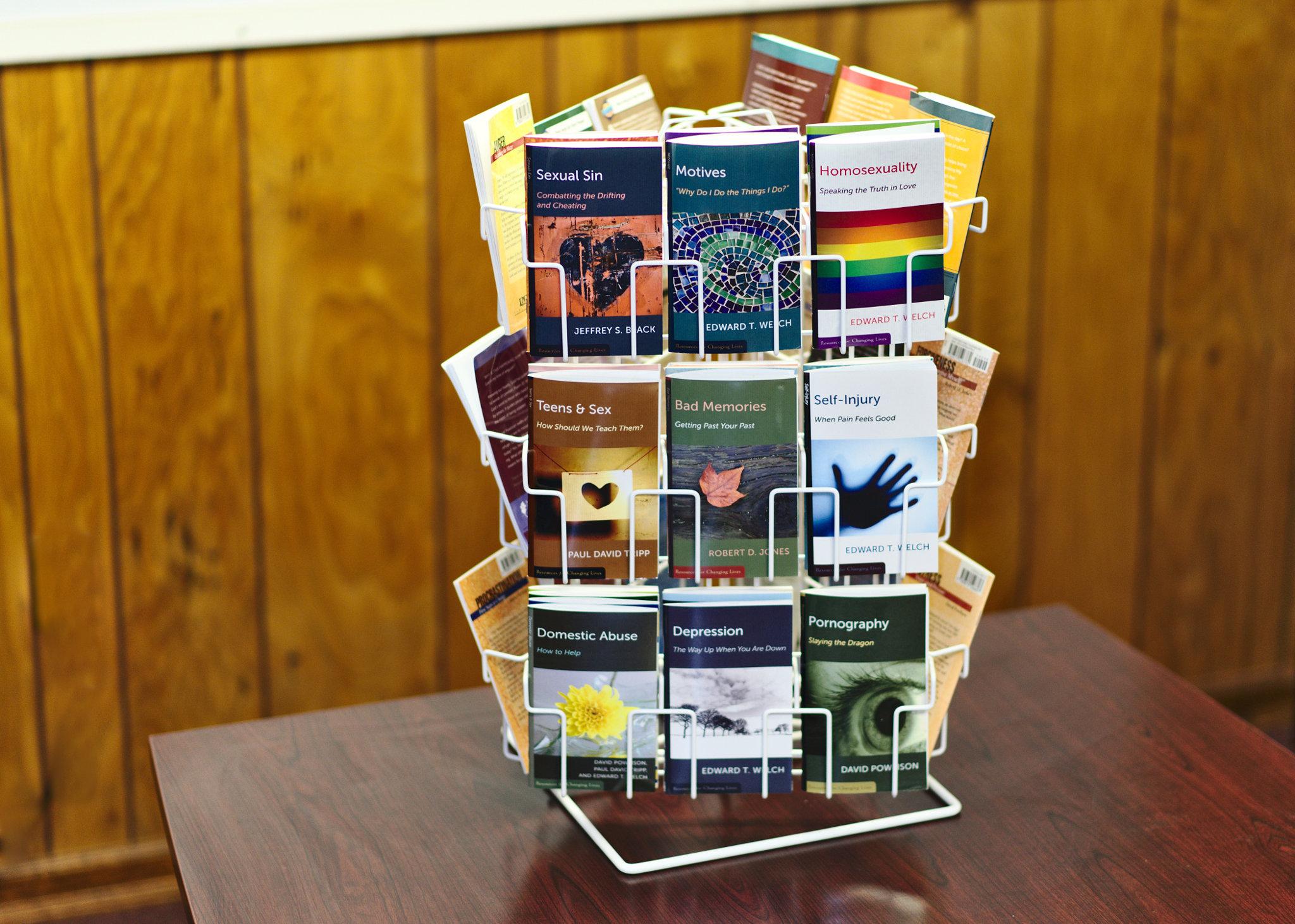 Spinning Book Rack