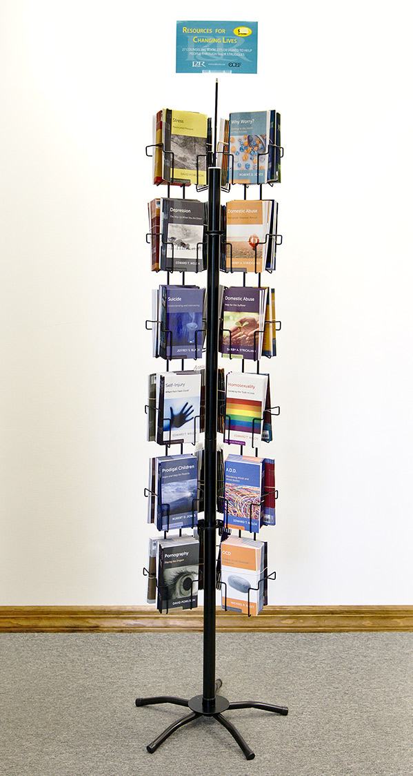 Spinning Book Rack