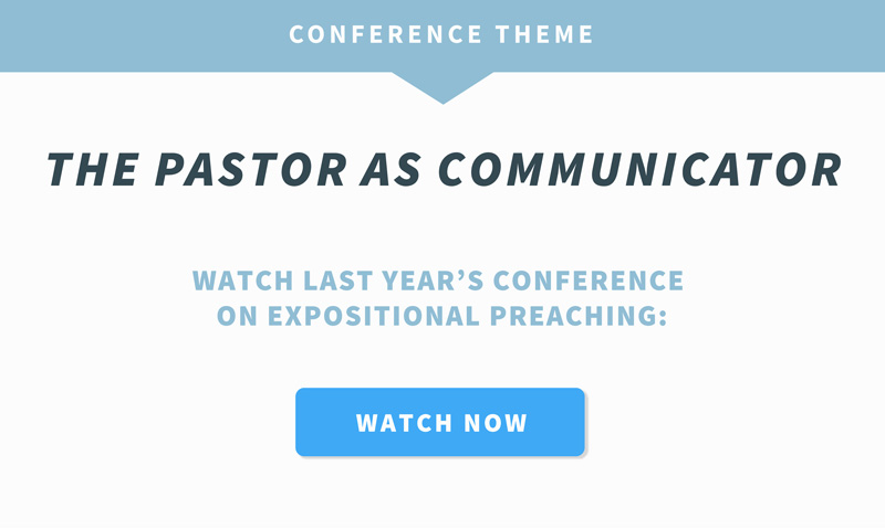 The Pastor as Communicator